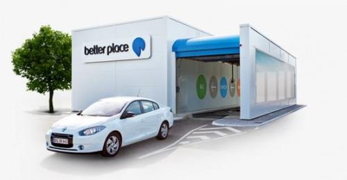 Better Place, les stations d'échange de batteries pour voitures électriques, racheté par Sunrise