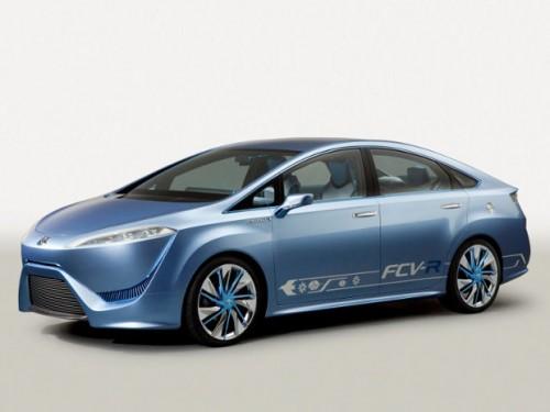 La voiture à hydrogène Toyota FCV-R