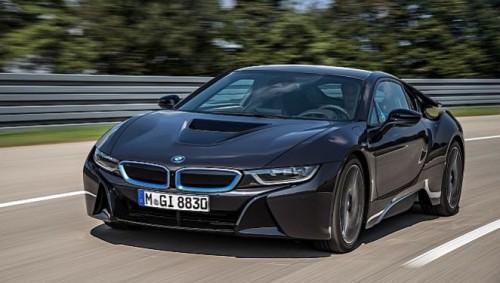 La BMW i8 de série
