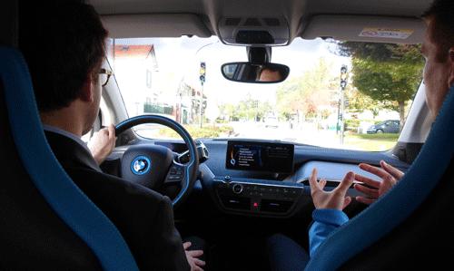 L'essai de la BMW i3