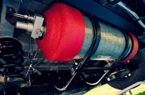 Intégration du réservoir d'hydrogène en prolongateur d'autonomie sur un Kangoo ZE de La Poste