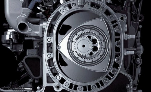 moteur rotatif mazda appliqué à une voiture électrique en prolongateur d'autonomie