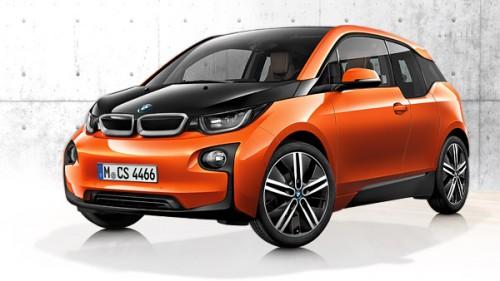 La BMW i3 électrique