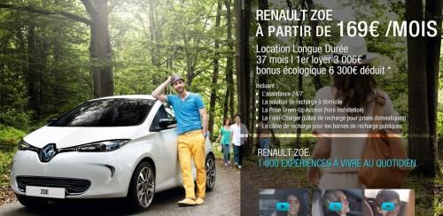 Renault ZOE ZE en Leasing