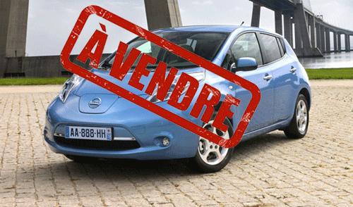La valeur d'occasion d'une voiture électrique