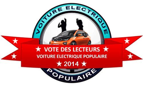 La BMW i3 : voiture électrique de l'année 2014