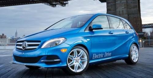Le prix d'achat de la mercedes Classe B électrique : 27000 € environ