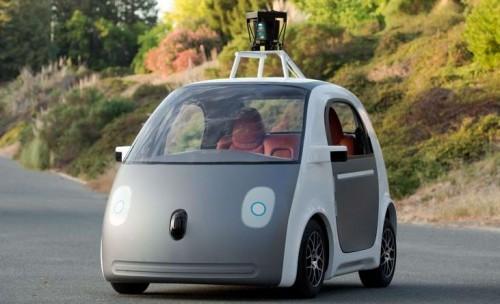 La voiture électrique de Google
