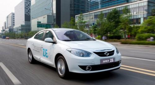 Renault Fluence électrique : la Samsung SM3 ZE en Asie