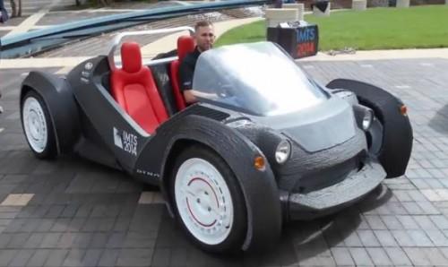 Strati est la première voiture électrique imprimée en 3D