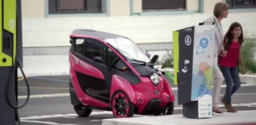 Le Toyota i-Road testé en autopartage à Grenoble
