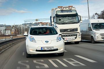 Trop de voitures electriques en Norvege