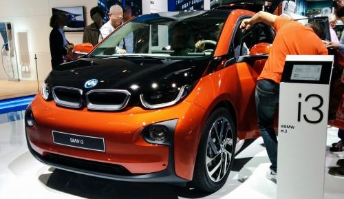BMW i3 au Mondial