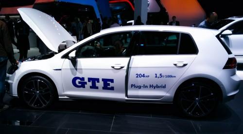 La Golf GTE hybride plug-in au Mondial