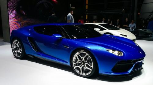 La Lamborghini Asterion au Mondial