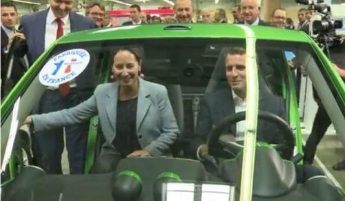 Royal et Macron annoncent un superbonus écologique pour les voitures électriques