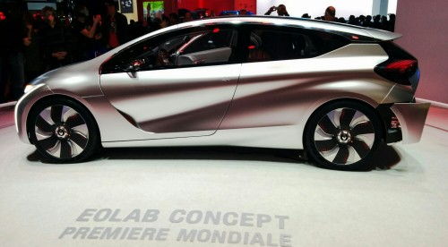 Renault Eolab au Mondial