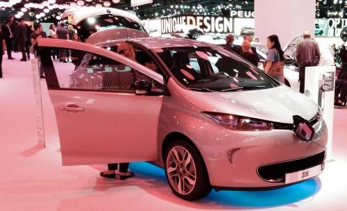 La Renault ZOE ZE au Mondial 2014