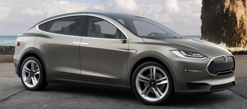 Voiture électrique tesla Model X 2016