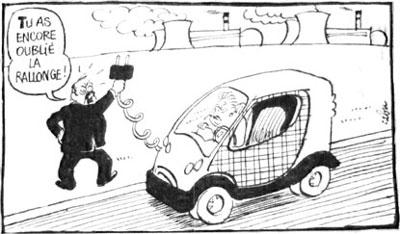 Voiture électrique Charlie Hebdo