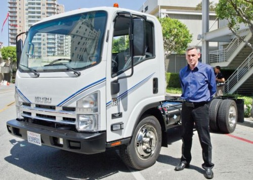 camion electrique Wrightspeed