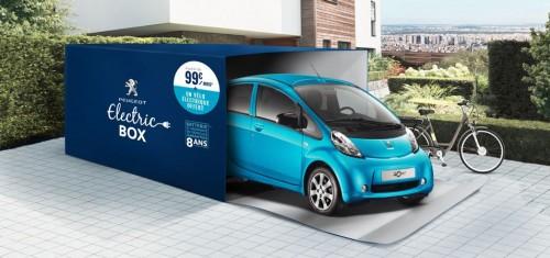 Le Peugeot Ion a 99€ par mois avec le superbonus