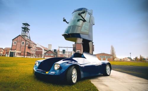 La voiture électrique Viséo télescopique