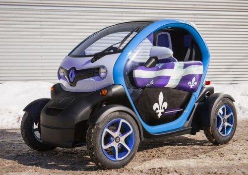 La Renault Twizy ZE au Québec