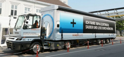 camion electric BMW