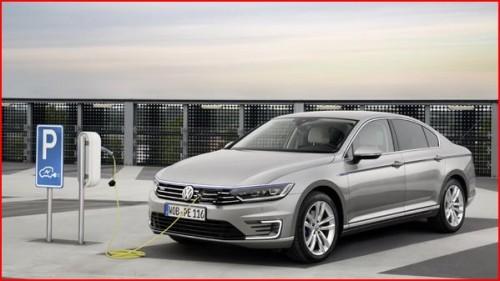VW Passat GTE hybride électrique