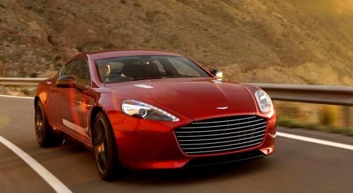 Aston Martin Rapide Electrique