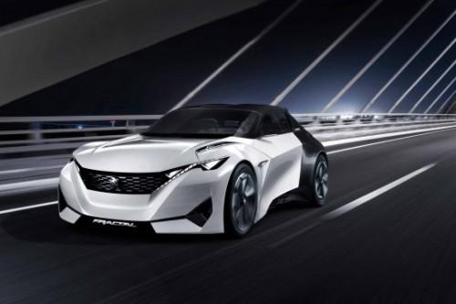 Peugeot Electrique : le concept Fractal