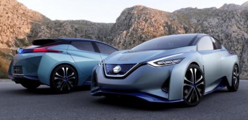 Nissan IDS electrique : autonomie et interactivité pour la Leaf 2017