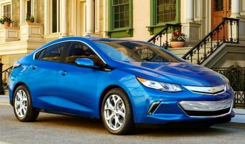 Chevrolet Volt 2016 Hybride électrique et écologique