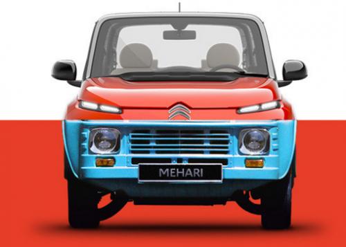 Citroën Méhari de 1968 vs e-Méhari de 2016