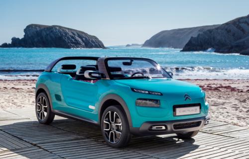 La Citroën e-Méhari électrique dévoilée lors de la COP 21