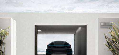 projet de voiture électrique Faraday Future