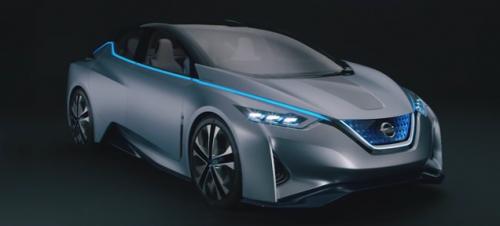 Une nouvelle voiture électrique Nissan avec prolongateur d'autonomie