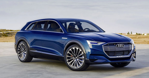 Audi Q6 e-tron 100% électrique