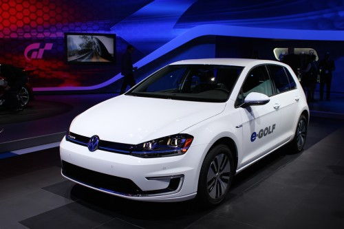 E-golf Volkswagen