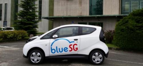 Autolib : les voitures electriques de Bolloré à Singapour