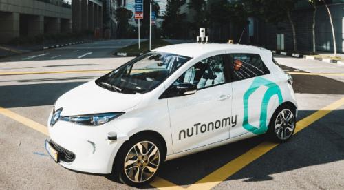 Nutonomy  renault zoe ze pour la voiture autonome
