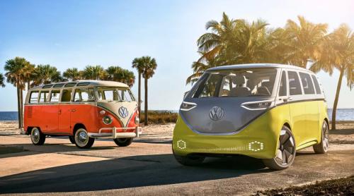 Le Volkswagen Buzz ID : nouveau Vw Combi électrique
